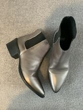 Levi's Leather Metallic Boots Size 6/39