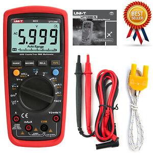 UNI-T UT-139E Multimeter True RMS Measurement AC/DC Voltage/Current Resistance●H