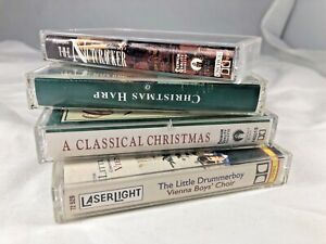 Lot of 4 Classical Christmas Cassette Tapes Vienna Boys Choir The Nutcracker