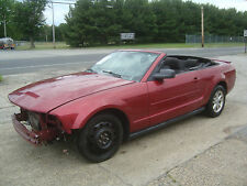 2007 Ford Mustang ONLY 67K MILES! V6 Convertible Salvage Rebuildable