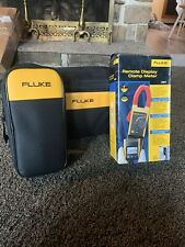 New Fluke 381 Amp Clamp Meter With Accessories