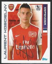 TOPPS Premier League 2012 Adesivo #9 Arsenal Laurent koscielny