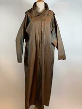 BABETTE SF Iridescent Brown Hooded Long Coat Size S/M OVERSIZED