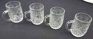 Princess House Exclusive Fantasia a Set of 4 Mugs Cups