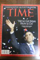 Time Magazine Barack Obama November 19, 2012 NEW NO LABEL DOUBLE ISSUE