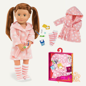 OUR GENERATION DOLL - GOOD NIGHT SLEEP TIGHT - Dressing Gown & Bedtime Outfit