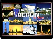 Berlin by Night Kühlschrankmagnet Fridge Refrigerator Magnet 6 x 8 x 0,4 cm