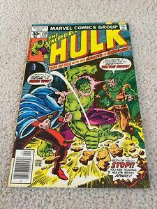 Incredible Hulk  210  Fine  6.0  Dr. Druid  Maha Yogi  Mongu  Doc Samson