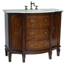 "42"" Stunning Algaringo Bathroom Sink Vanity - Model Model –Hf1214"