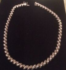 """17"""" Sterling Silver Necklace"""