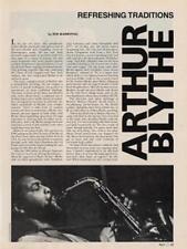 Arthur Blythe Downbeat Clipping OBLIQUE