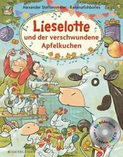 Lieselotte und der verschwundene Apfelkuchen. Buch mit CD - 9783737350105