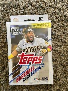 New 2021 Topps Series 2 Baseball HANGER Box - IN HAND! MLB Cards
