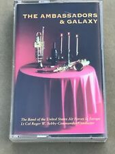 the ambassadors & galaxy  ( band of the usa air forces europe ) cassette