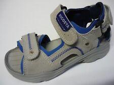 RICOSTA Jungen Schuhe Sandalen 25 Mittel Grau / Blau NEU