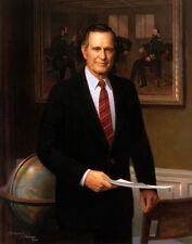 "President George H. W. Bush Portrait 14 x 11"" Photo Print"