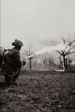 507087 Flame Thrower Near Xanten Germany 1945 Bell DND 137466 A4 Photo Print
