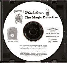BLACKSTONE, THE MAGIC DETECTIVE - 57 Shows Old Time Radio In MP3 Format OTR 1 CD