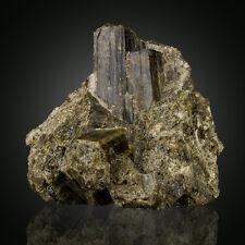 """3.5"""" Green VESUVIANITE Terminated Crystals-Sanford ME-exErnieSchlichter-for sale"""