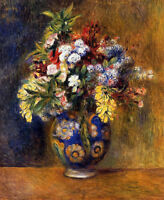 Dream-art Oil painting Pierre-Auguste Renoir Flowers in a Vase hand painted art