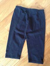 BLOCH Black Capri Dance Pants - Girls Size 6x/7 - EUC