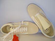 8f227a5335 VANS Old Skool Gum Block Classic White Skateboarding Shoes Mens Sz 8 New In  Box