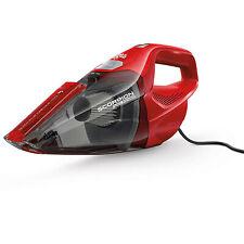 Dirt Devil Hand Vacuum Cleaner Quick Flip Crevice Tool Lightweight Bagless Red