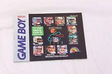 Nintendo Gameboy - NFL Quarterback Club - Manual Only