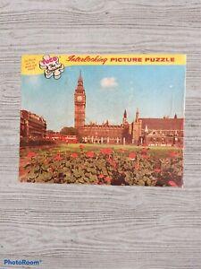 "Tuco Original Interlocking Picture Puzzle ""Parliament Square, London"" Wood-like"