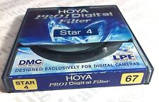 Genuine Hoya Pro 1 Digital 67mm Star 4 Star-4 Effect Filter HOXD67STAR4 67 mm