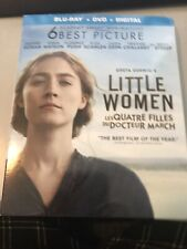 Little Women Blu Ray + Dvd + Digital New And Sealed