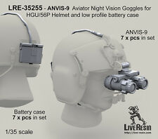 Live Resin 1/35 LRE-35255 ANVIS-9 Aviator Night Vision Goggles for HGU/56P