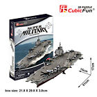 3D paper puzzle building model military USS enterprise USA Aircraft carrier ship