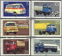 DDR 2744-2749 (kompl.Ausg.) FDC 1982 Industrievertrieb für Automobiltech