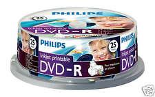 Philips DVD-R Printable 4.7GB, 16x Speed, Spindel 25 Stück
