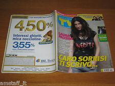 TV SORRISI E CANZONI=2011/41=LAURA PAUSINI=ZUCCHERO=LAURA GAVLAN=PAMELA PRATI=