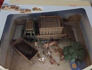 Schleich 43401 Spielset Wild life Afrika Wildtiere Löwe Nashorn Tierbox LKW NEU