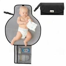 Foldable Portable Baby Diaper Changing Pad Travel Diaper Clutch Mat Station