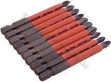 10 x 70mm No Deslizable Destornillador Brocas Prevención Tornillo hexagonal Pozi