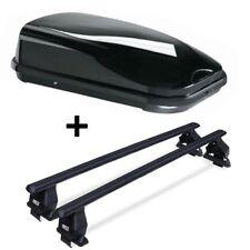 Caja de techo vdpfl320 320l + ACERO baca Menabo Tema para Mini Cooper S SW A