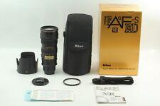 【 MINT in BOX 】 Nikon Zoom-Nikkor 70-200mm f/2.8G ED-IF AF-S VR Lens From JAPAN