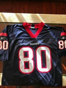 Houston Texans #80 Andre Johnson Reebok Jersey, Large