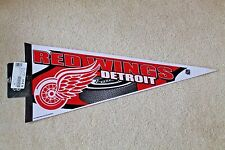 DETROIT RED WINGS full-size stadium PENNANT by Rico Industries - New w/ Tags
