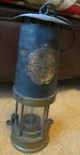 miners lamp Eccles S.L. Kirkby different closure pos early mining collectible