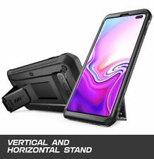 Samsung Galaxy S10 Plus Case Belt Clip Holster Stand Bumper Heavy Duty Cover