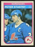 Peter Stastny 1982 O-Pee-Chee #292 Excellent Condition! HOF!