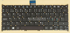 NEW FOR Acer Aspire V3-331 V3-371 V3-372 V3-372T Keyboard Nordic No Frame