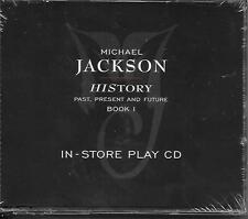 MICHAEL JACKSON History IN-STORE PLAY advance cd 1995 still sealed