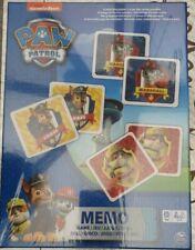 Paw Patrol Memo Game