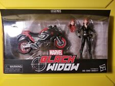 Marvel Legends Series 6-inch Black Widow Action Figure with Motorcycle BRAND NEW